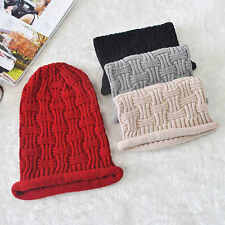 Fashion Unisex Knitted Hat Hip Hop Street Jersey Slouch Baggy Hat Beanie Cap Hat