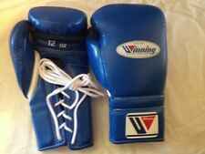 NEW FREE SHIPPING Winning Boxing Gloves 8-16oz Lace Up/Hook & loop Made in Japan