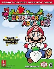 Official Strategy Guides: Super Mario Advance : Prima's Official Strategy Guide