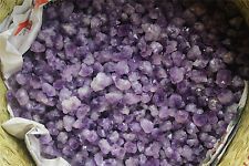 5kG NATURAL Tibetan skeletal purple quartz AMETHYST Point CLUSTER Specimen