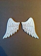 Pair of Lasercut Wooden Angel Wing Shapes, Crafts