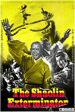 The Shaolin Exterminator - 1977 - Movie Poster