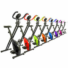 Magnetic X-Bike Exercise Bike Folding Fitness Cardio Workout Weight Loss