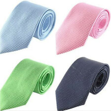 Fashion Classic Jacquard Woven Silver Silk Cotton Men Tie Necktie Wedding Party