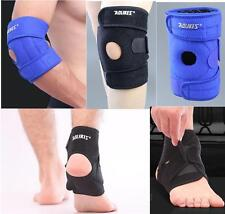 1 Pair Knee Ankle Elbow Brace Support Foot Drop Protector Elastic Sports Gym New