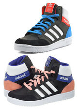 Adidas Pro Play Older Kids Boys Girls Smart Casual Hi-Top Trainers Size 3-6 UK