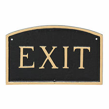 Montague Metal Products Inc. Standard Arch Exit Statement Garden Plaque