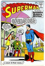 """Superman #141  VG/FN   1960    """"strict grading  / 1 day shipping"""""""