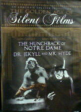 2 Silent Classics The HUNCHBACK of NOTRE DAME and Dr. JEKYLL & Mr HYDE Sealed