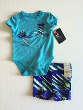 NWT Infant Girl's Under Armour Big Logo 2 Piece Outfit