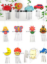 DIY Paint Your Own Wooden Wind Chime Wood Windchime Kids Craft Party Decoration