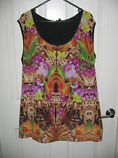 CITY CHIC - SIZE M - SINGLET TOP - EXCELLENT USED CONDITION!!!
