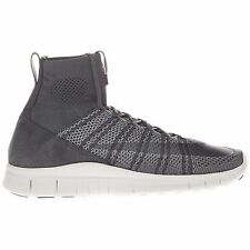 Nike Men's Free Flyknit Mercurial High Top Active Running Gym Grey Trainers