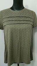 MARC BY MARC JACOBS GREEN TUNIC TOP SIZE S NEW