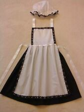 GIRLS 9-10years VICTORIAN TUDOR EDWARDIAN fancy dress costume BWS parlour maid