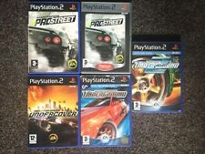 PS2 GAME: NEED FOR SPEED BUNDLE ~ Pro Street, Undercover, Underground ~ FREE P+P