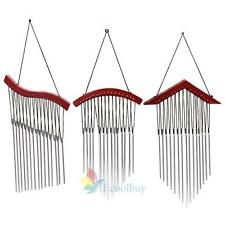 A#S0 NEW 15 Tubes Windchime Yard Garden Outdoor Living Wind Chimes Home Decor Be