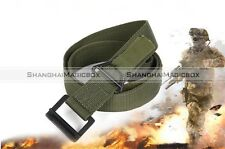 Outdoor Military Tactical EMT Security Police SWAT Duty Utility Nylon Belt S8