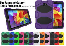 Heavy Duty Shock Proof case/Screen Protector For Samsung Galaxy Tab A 2016(10.1)