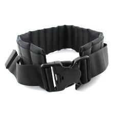 Tactical Molle Padded Patrol Belt Military Quick Release Adjustable Waist Belt