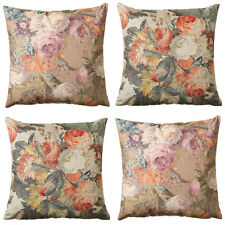 Scatter Box Bouquet 100% Cotton Feather Filled Cushion, 58 x 58 Cm