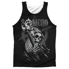 Sons Of Anarchy Somcro Reaper (Front Back Print) Mens Sublimation Tank Top Shirt