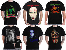 Marilyn Manson T Shirt Pale Emperor SAY10 American Family Official Mens New
