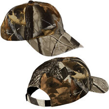Mens Realtree Hardwoods Unstructured Garment Wash Camo Baseball Cap Hunting Hat
