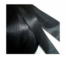 1 Inch 12yds / 24yds / 50yds 2 Panel Black Lite Weight Nylon Webbing Strapping
