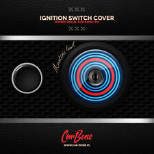 IGNITION SWITCH COVER DECAL, PATTERN, 911 (1964 – 1973) porsche sticker epoxy 3d