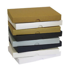 Pearlescent A5 Greeting Card Boxes, Gift, Wedding. Choose Colour & Quantity