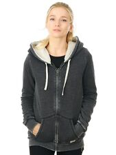 Volcom Black Lived In Womens Zip Hoody
