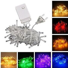 Waterproof 10M 100LED Fairy String Light Lamp Wedding Christmas Xmas Party Decor