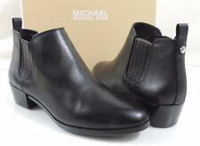 Women's Shoes MICHAEL Michael Kors SHAW FLAT BOOTIE Ankle Boots Leather Black