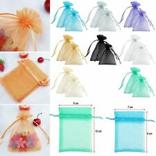 Wholesale! Sheer Organza Wedding Favor Party Gift Candy Bags Jewelry Pouches