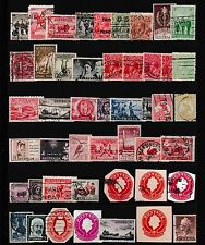 Australia Pre Decimal Stamps  ,Cut Out Embossed Stamps,KGV Stamps,Kangaroo Stamp