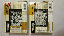 Magnetic Poetry Fridge Magnets New In Box Original and Sequel Editions!