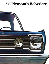 1966 Plymouth Belvedere - Promotional Advertising Poster