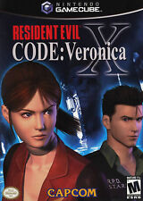 Resident Evil CODE: Veronica X Nintendo GameCube 2003 Complete Tested Video Game