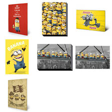 Minions Wall Art (Assorted)