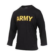 Long Sleeve Army PT Shirt