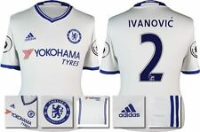 *16 / 17 - ADIDAS ; CHELSEA AWAY SHIRT SS + PATCHES / IVANOVIC' 2 = KIDS SIZE*