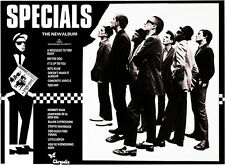 The Specials - First Album - 1979 - Album Release Promo Poster