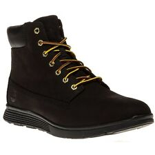 New Mens Timberland Black Killington 6` Leather Boots Lace Up