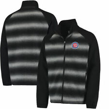 Chicago Cubs G-III Sports by Carl Banks Discovery Full-Zip Jacket - Black - MLB