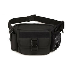 Utility Tactical Waist Pack Water Bottle Pouch Hiking Outdoor Sling Belt Bag