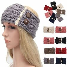Winter Women Ear Warmer Headwrap Lady Fashion Crochet Headband Knitted Hairband