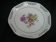 Vintage Hand Painted Decorative Plate Bavaria Germany