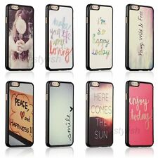 New Funny Quirky Quote Slim Hard Case Back Skin Cover For Apple iphone 6 6s Plus