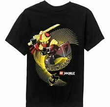 Lego Ninjago t-shirt 4-5 XS 6-7 S 8 M 10-12 L 14 16 XL 18 XXL New Child Tee